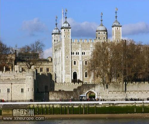 伦敦塔曾作为堡垒,军械库